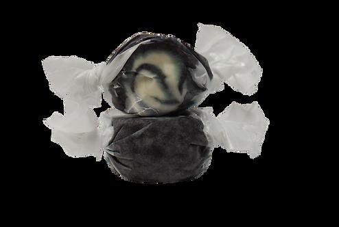 Black Licorice Swirl Salt Water Taffy