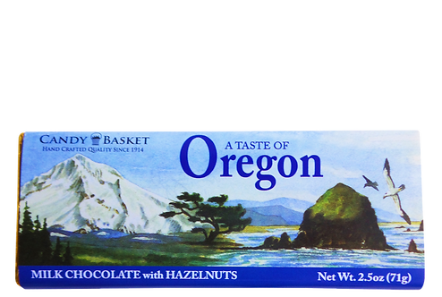 Taste of Oregon Bar with Hazelnuts