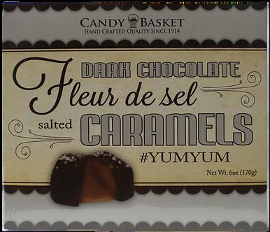 Fleur De Sel Caramels - Dark Chocolate