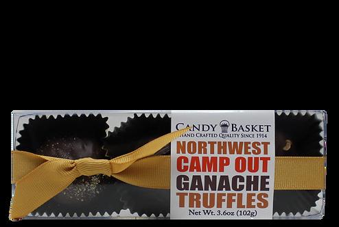 Northwest Camp Out Ganache Truffles