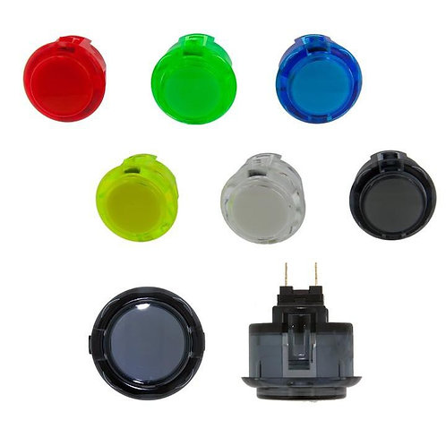 Sanwa OBSC-24 clear Pushbutton