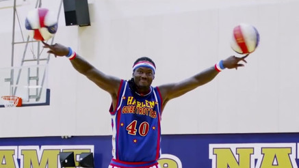 Harlem Globetrotters Pitch Bid Video