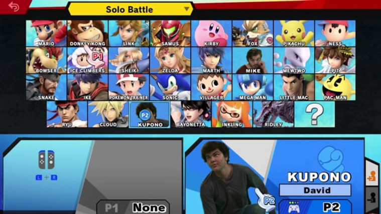 (Kinda) Super Smash Bros (2018)