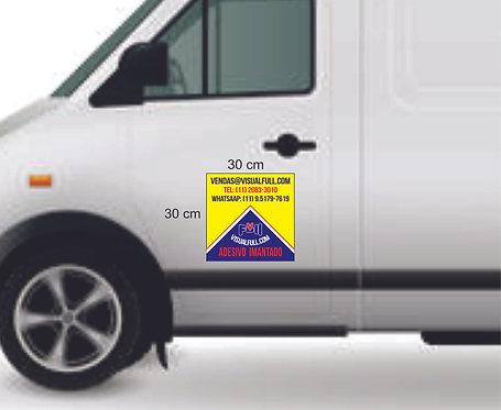 Adesivo imantado | Automotivo |  30x30cm