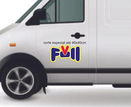 Adesivo imantado | Automotivo |  40x40cm