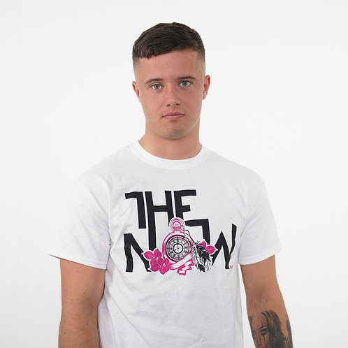 The Now - Pocketwatch Design T-Shirt (White)