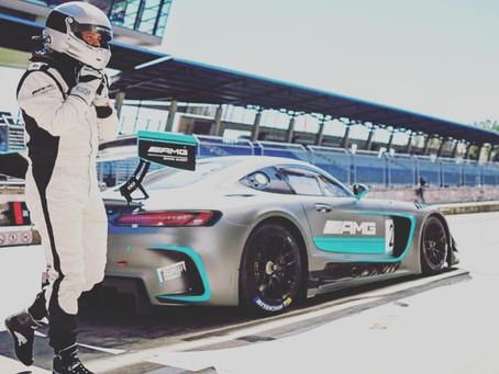 Mercedes AMG GT3 Testfahrten