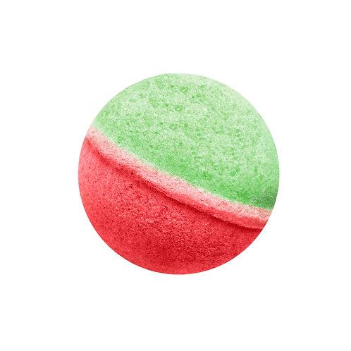 "Натуральная освежающая бомбочка для ванн Бурлящий арбуз ""What-A-Melon"""