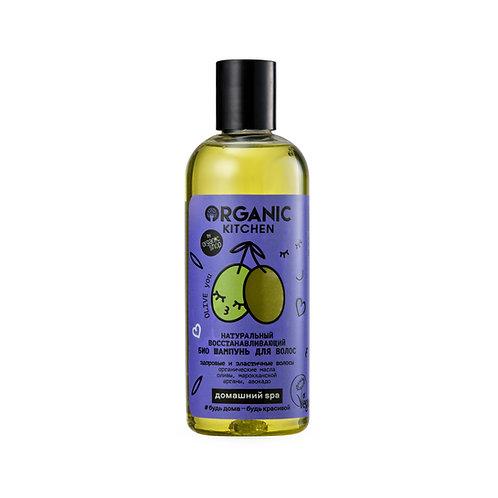 """Натуральный восстанавливающий био шампунь для волос """"Olive you"""""""