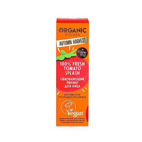"Обновляющий splash-пилинг для лица ""100% Fresh Tomato Splash"""