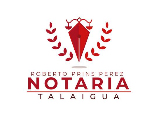 """Logo """"Notaria Talaigua"""""""