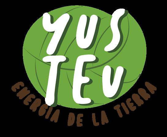 "Logo ""Yustev"" Energia de la tierra"