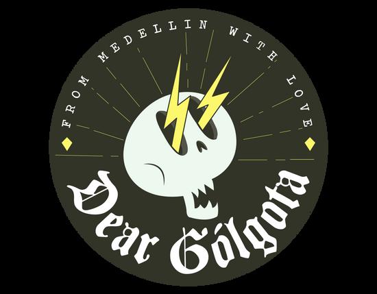"""Logo """"Dear Gólgota"""""""