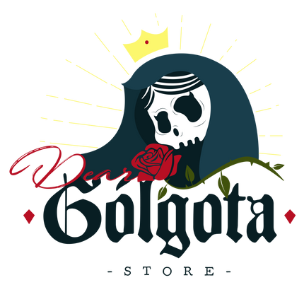"""Logo """"Dear Gólgota"""" opción descartada"""