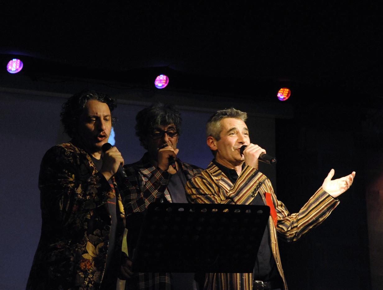 Folco, Claudio e Carlo