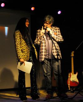 Michela Gattermayer con Claudio Sanfilippo