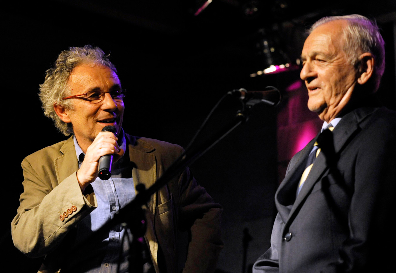 Ferruccio Soleri con Gianluca Martinelli