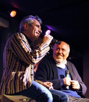 Elio Fiorucci con Carlo Fava