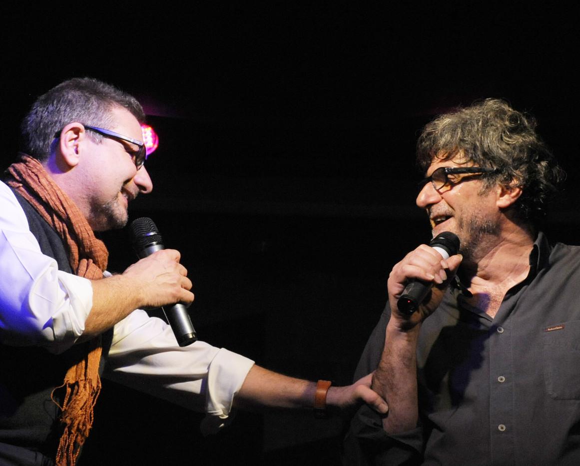 Massimo Turchetta con Claudio Sanfilippo