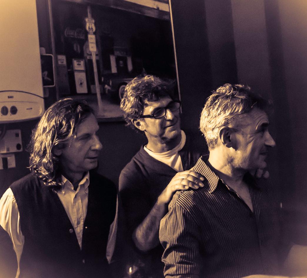 Giorgio Terruzzi con Carlo e Claudio