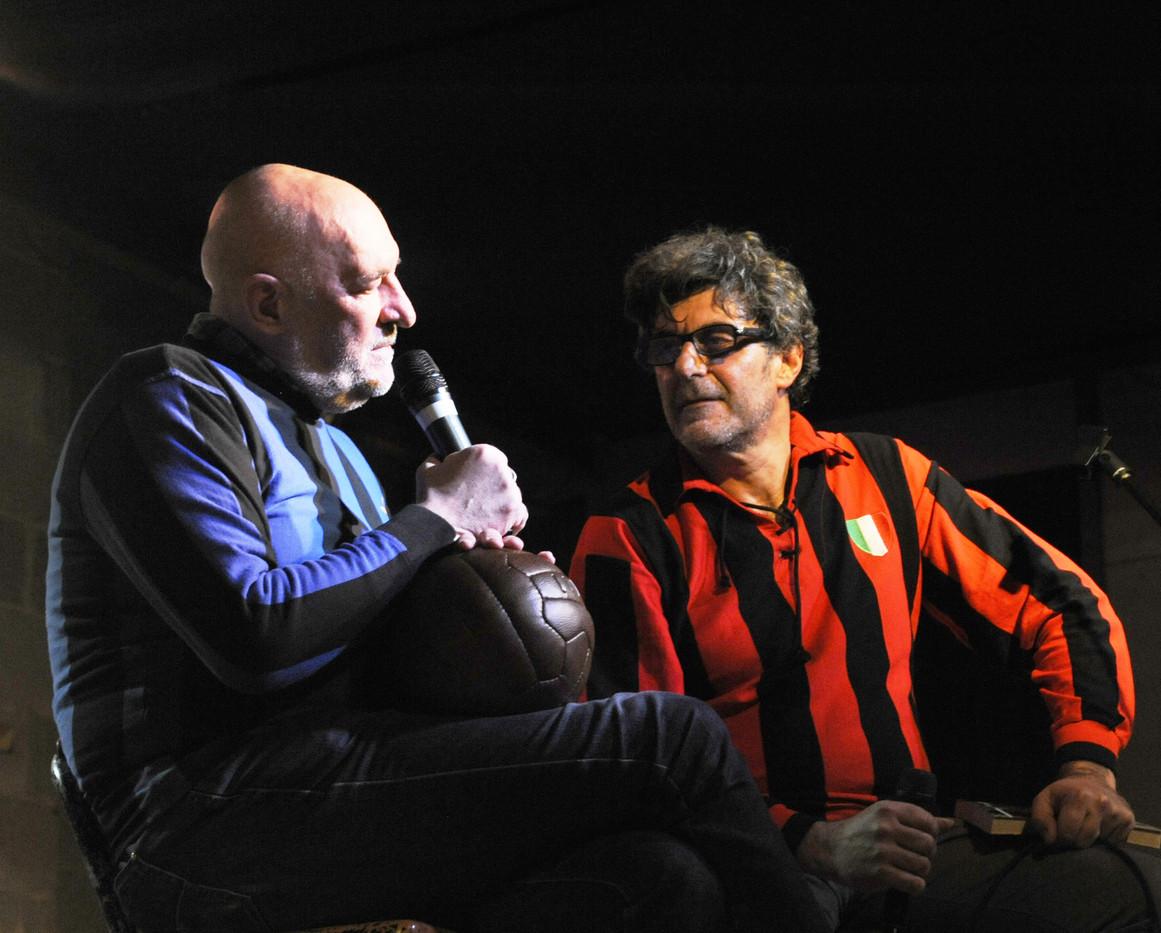 Tiziano Marelli con Claudio