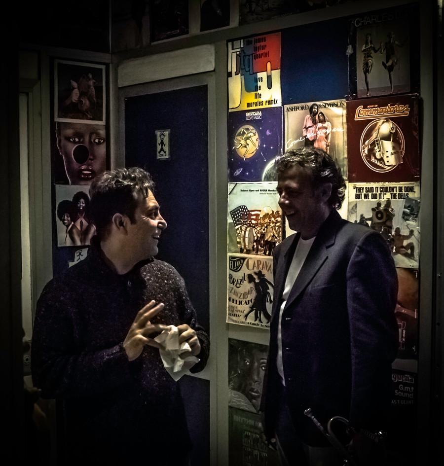 Marco Ricci e Marco Brioschi