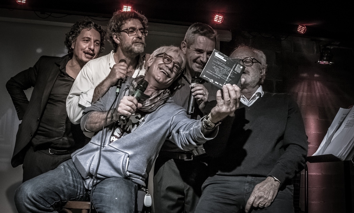 Gino e Michele con Carlo, Folco e Claudio