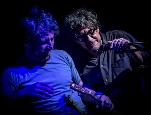 Walter Leonardi con Claudio Sanfilippo
