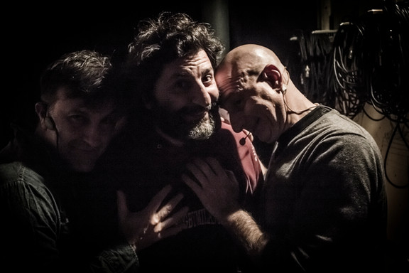 Enzo Limardi, Massimo Genchi e Andrea Bove