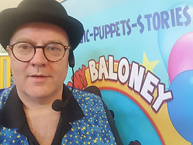 Cork Magician Tony Baloney for children's entertainment