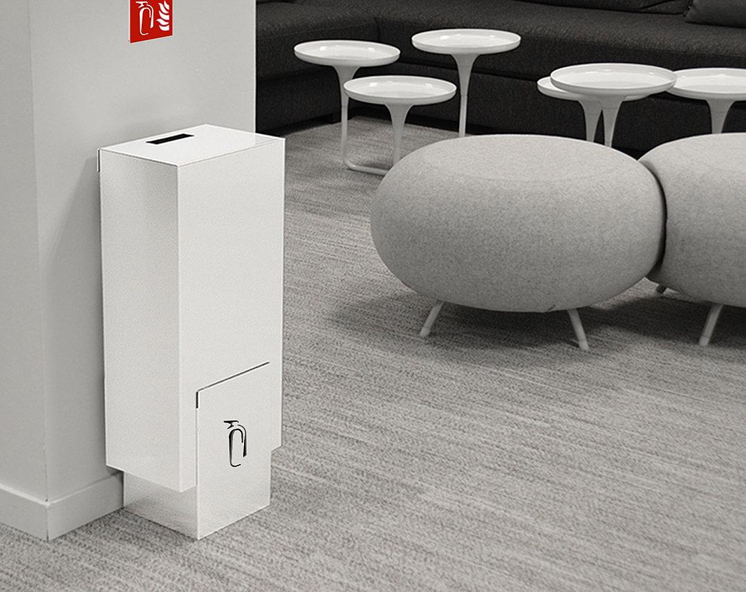 extibox coffrets pour extincteurs cache extincteur design. Black Bedroom Furniture Sets. Home Design Ideas