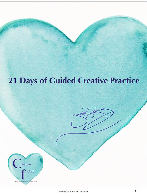21 Days of Guided Creative Practice