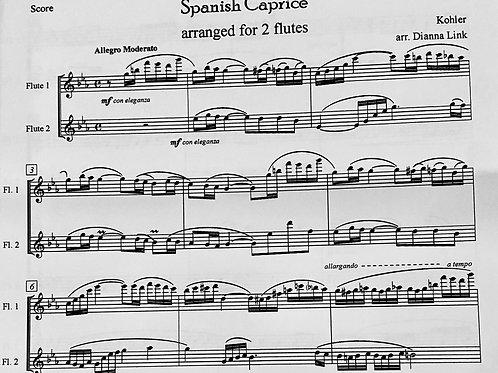 Kohler - Duet for Spanish Caprice Etude