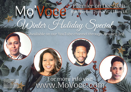 Winter Holiday special title card -page-