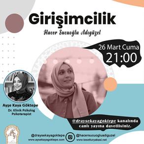 Ayşe Kaya Goktepe online seminer hacer s