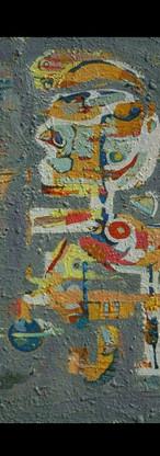 Saturnia , oil on canvas