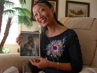 Rebecca with Jesus, MBerger.jpg