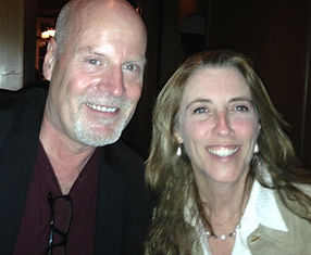 Caitlin and Gregg Olsen, Bouchercon, 201