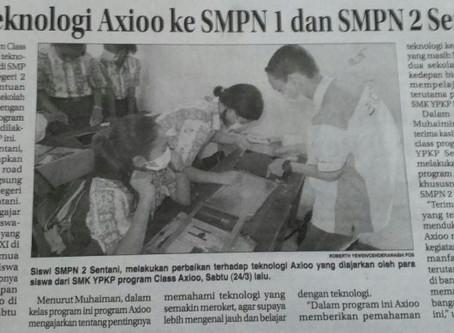 Revitalisasi SMK Melalui Axioo Class Program