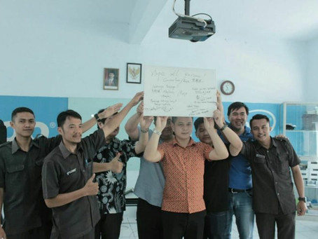 Kunjungan Perusahaan Ruijie Network China ke SMK Rujukan Nasional Axioo