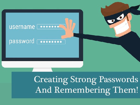 Secure Passwords - Creating And Remembering Them!
