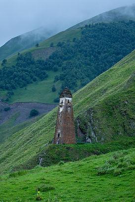 Medieval fortress of Lebaiskari. Old sto