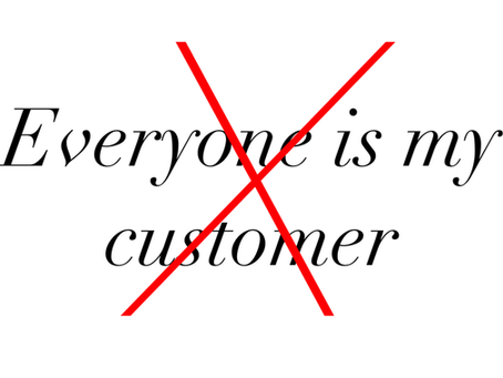 Everyone Is Not Your Customer: Why Customer Personas Are Critical To Your Marketing