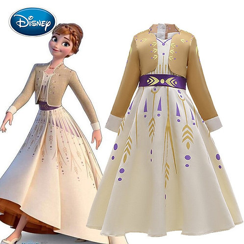 Anna Frozen 2 -Some Things Never Change Deluxe dress