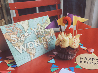 HAPPY BIRTHDAY TO ABROAD AND BEYOND