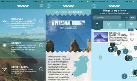 HANDY APPS FOR TRAVELLING IRELAND
