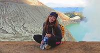 Backpacker, solo traveller, russian traveller, female traveller, traveler, Siberian girl