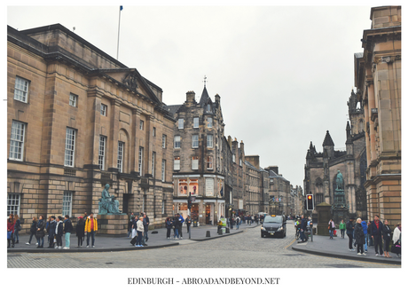 POSTCARDS FROM EDINBURGH