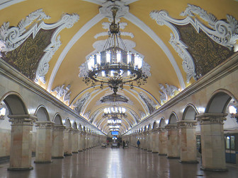 15 OF MOSCOW'S MOST BEAUTIFUL METRO STATIONS