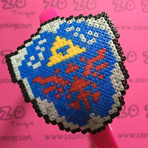 Zelda Hyrule Shield Pixel Headband